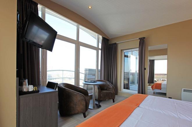 Hotel Donny - De Panne - Κρεβατοκάμαρα