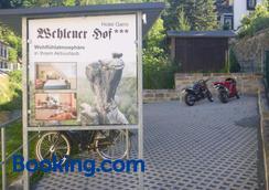 Hotel Wehlener Hof - Stadt Wehlen - Servicio del hotel