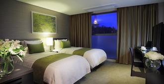 阿文樹釜山酒店 - 釜山 - 臥室