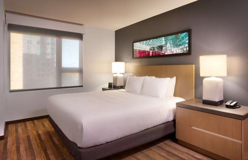 波特蘭/市中心Hyatt house酒店 - 波特蘭 - 臥室