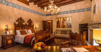 Hotel Palazzo Priuli - Venetsia - Makuuhuone