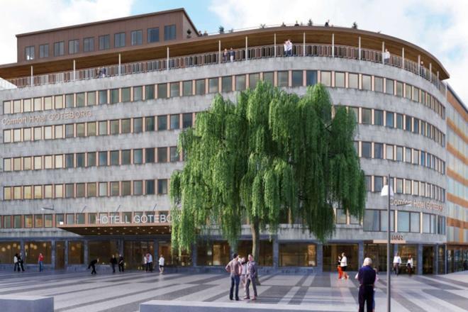 Comfort Hotel Goteborg - Gothenburg - Building