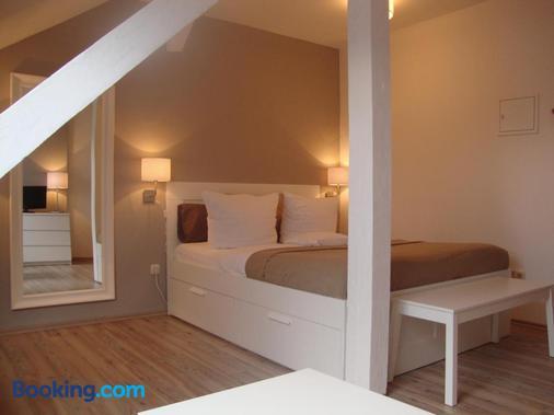 Apartment Hotel Lindeneck - Erfurt - Bedroom