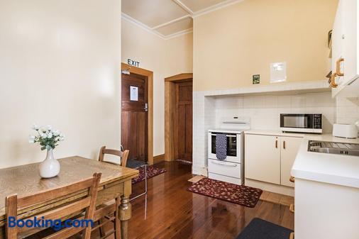 Halswell Lodge - Wellington - Phòng ăn