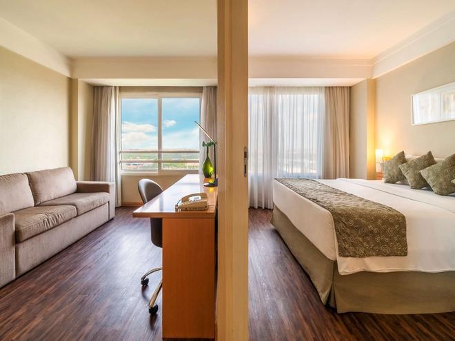 瓜魯柳斯機場美居酒店 - 瓜魯柳斯 - 瓜魯柳斯 - 臥室