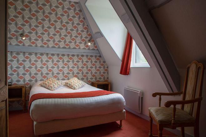 The Originals Boutique, Hôtel George Sand, Loches (Inter-Hotel) - Schloss Loches - Schlafzimmer