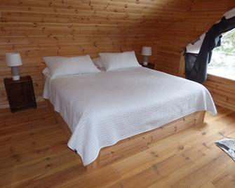 Luxurious wooden square cottage on lake - Saint-Alexis-des-Monts