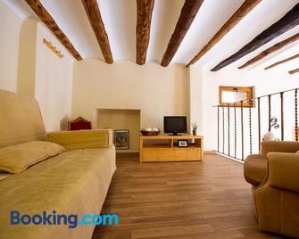 Apartamentos Aguilar - Alcañiz - Huiskamer
