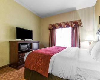 Comfort Suites South Point - Huntington - South Point - Bedroom
