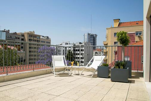 Olissippo Saldanha - Lisbon - Balcony