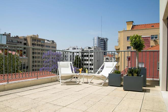 Olissippo Saldanha - Lisboa - Balcón