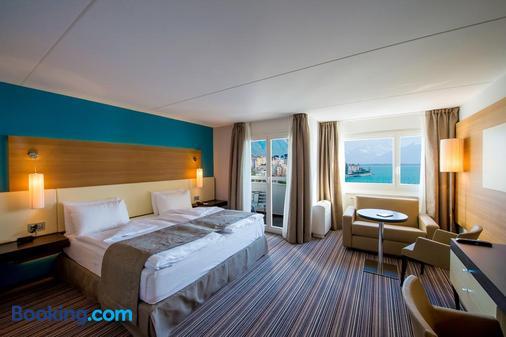 貝斯特韋斯特里埃維拉歐洲酒店 - 蒙特魯 - 蒙特勒 - 臥室