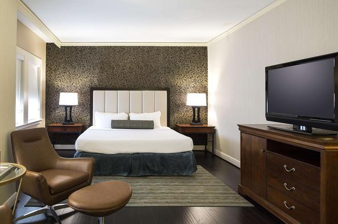休士頓白廳酒店 - 休士頓 - 休斯頓 - 臥室
