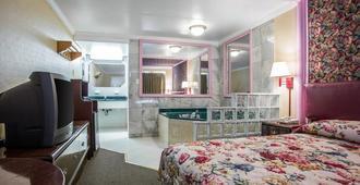 Downbeach Inn - אטלנטיק סיטי - חדר שינה