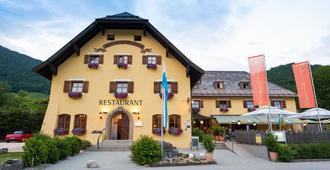 Hotel & Restaurant Alpenglück - Schneizlreuth - Edificio