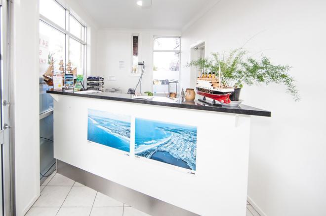 波麗娜工藝汽車旅館 - 巴利納 - 巴里納(澳洲) - 櫃檯