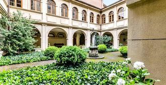 Hospedería Monástica Pax - León - Edifício