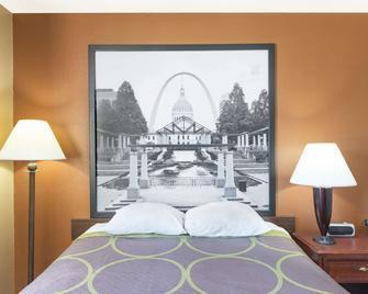 Super 8 by Wyndham Poplar Bluff Missouri - Poplar Bluff - Schlafzimmer