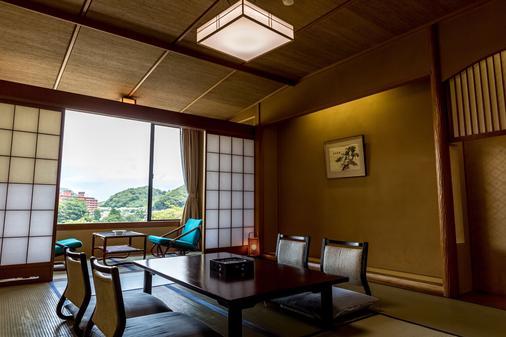 新八景園飯店 - 伊豆市 - 餐廳