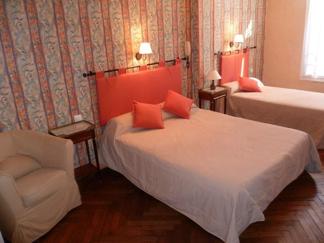 Hotel Castel Mistral - Antibes - Bedroom