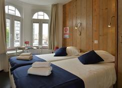 Hotel Aan Zee - De Panne - Makuuhuone