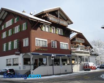Hotel Bahnhof - Reichenbach im Kandertal - Gebouw