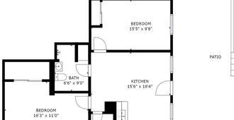 Grant Hill III By Avantstay | Sd Home | 5 Mins From Balboa Park - San Diego - Floorplan