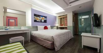 Liz Hotel - Taipei City - Bedroom