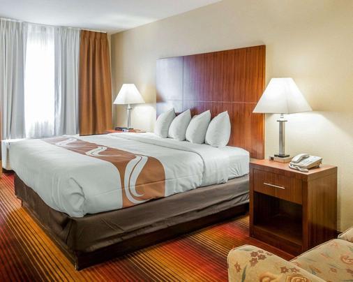 阿爾伯克爾基西品質套房酒店 - 阿爾布奎克 - 阿爾伯克基 - 臥室