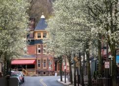 The Dolon House - Jim Thorpe - Outdoor view