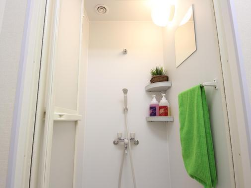 大阪蜂巢旅館- 青年旅舍 - 大阪 - 浴室