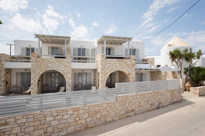 Anemomylos Apartments - Naousa - Κτίριο