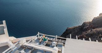 On The Rocks Hotel - Thera