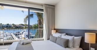 Pier 21 Apartment Hotel - Fremantle - Camera da letto