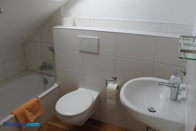 Gasthaus Waldschlosschen - Wattenbach - Bathroom