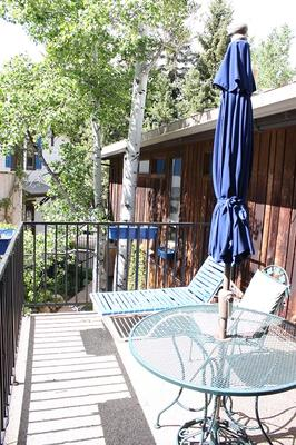 St. Moritz Lodge & Condominiums - Aspen - Balcony