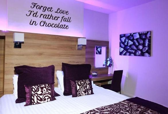 The Chocolate Box Hotel - Bournemouth - Τραπεζαρία