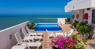 Hotel Aixo Suites - קרטחנה דה אינדיאס - בריכה