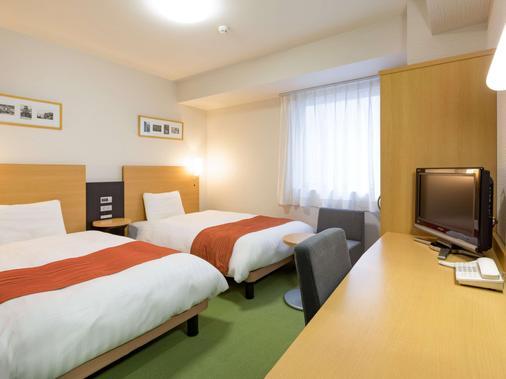 山形Comfort飯店 - 山形市 - 臥室
