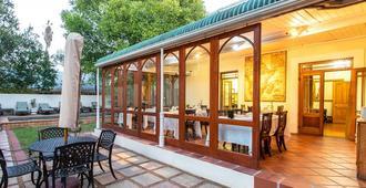 Evergreen Manor And Spa - Stellenbosch - Patio