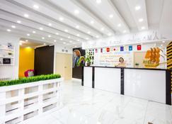 White Hotel & Hostel - Biskek - Recepción