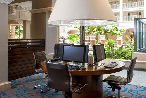 Sheraton Suites Fort Lauderdale at Cypress Creek - Fort Lauderdale - Business centre