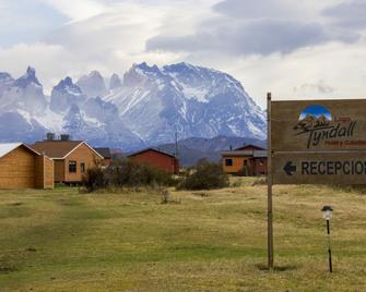 Cabañas Lago Tyndall - Torres del Paine - Gebäude