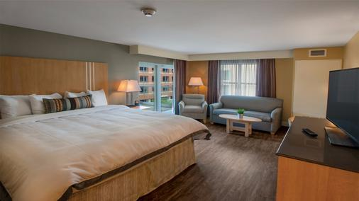 Holiday Inn - Ithaca Downtown - 伊薩卡 - 伊薩卡 - 臥室
