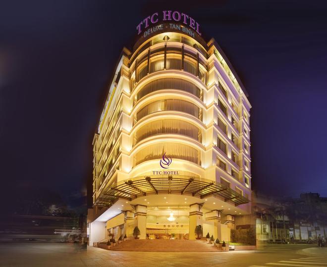 Ttc Hotel Deluxe Tan Binh - Ho Chi Minhin kaupunki - Rakennus
