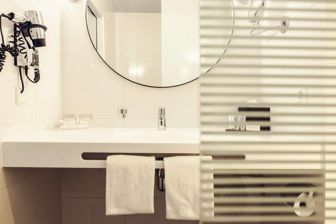 Carlton Square Hotel - Χάαρλεμ - Μπάνιο