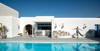 Mouras Resort - Luxury Maisonette Villas - Livadia - Pool