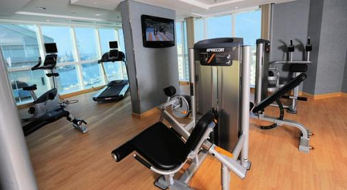 Alhamra Hotel - Sharjah - Gym