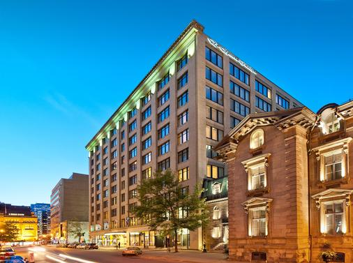 Le Square Phillips Hotel And Suites - Montreal - Rakennus