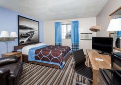 Super 8 by Wyndham Great Falls MT - Great Falls - Phòng ngủ